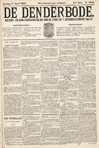 De Denderbode 1887-04-17
