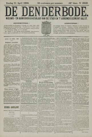 De Denderbode 1888-04-15