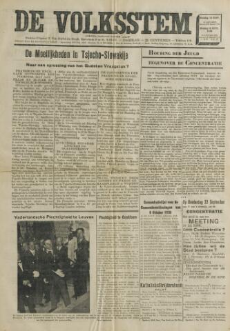 De Volksstem 1938-09-19