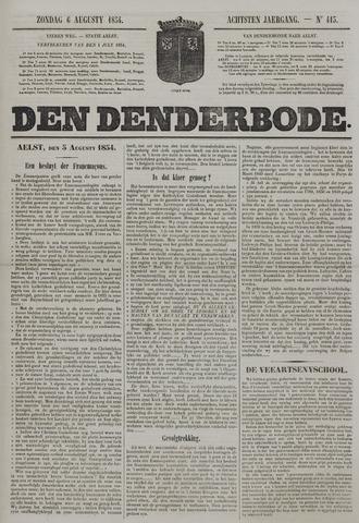 De Denderbode 1854-08-06