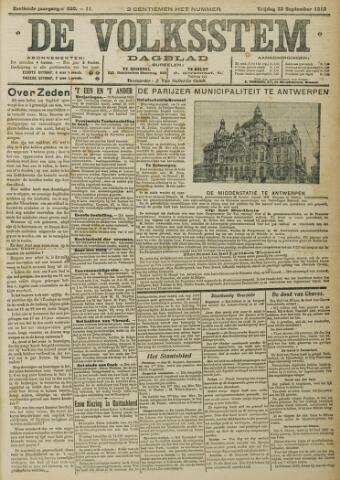 De Volksstem 1910-09-30