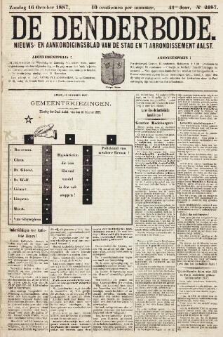 De Denderbode 1887-10-16