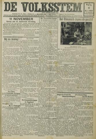 De Volksstem 1931-11-06