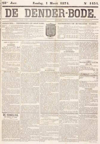 De Denderbode 1874-03-01