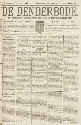 De Denderbode 1901-04-25
