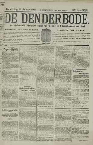 De Denderbode 1904-01-21