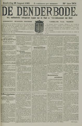 De Denderbode 1903-08-20