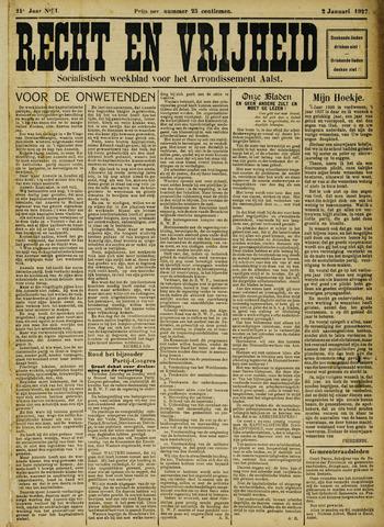 Recht en Vrijheid 1927