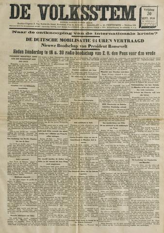 De Volksstem 1938-09-30
