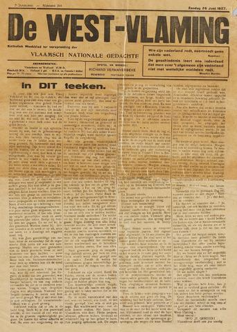 De West-Vlaming 1927
