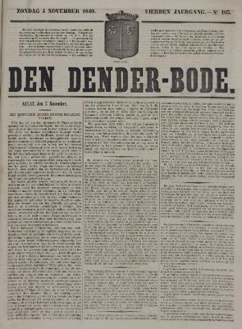 De Denderbode 1849-11-04