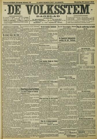 De Volksstem 1915-01-20