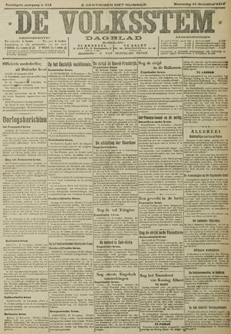 De Volksstem 1914-11-18