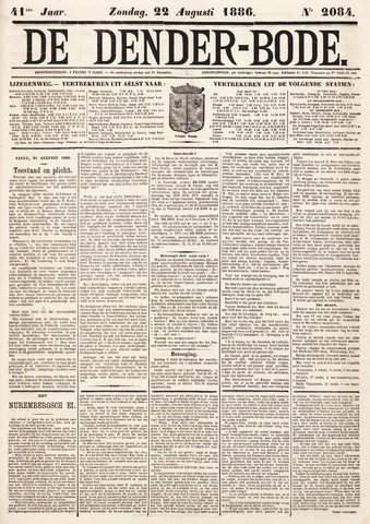 De Denderbode 1886-08-22