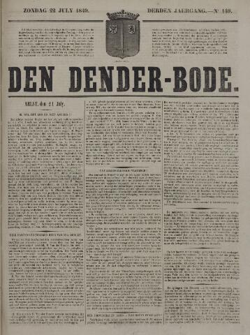 De Denderbode 1849-07-22
