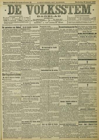 De Volksstem 1915-01-28