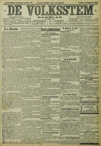 De Volksstem 1915-08-13