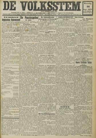 De Volksstem 1931-09-16