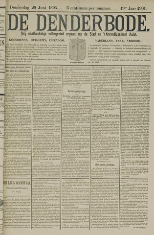 De Denderbode 1895-06-20