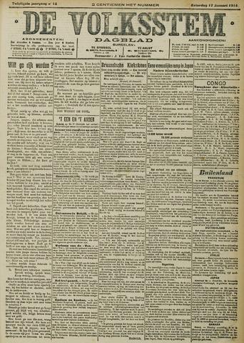 De Volksstem 1914-01-17