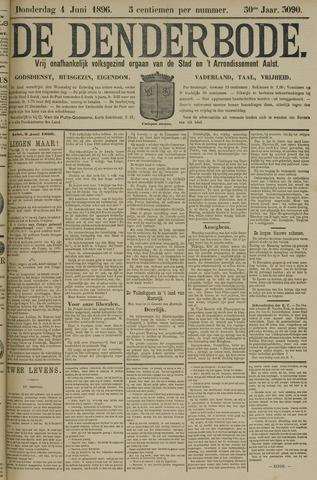 De Denderbode 1896-06-04