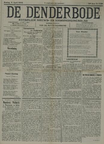 De Denderbode 1916-04-09
