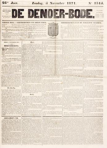 De Denderbode 1871-11-05