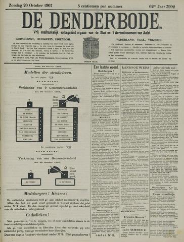 De Denderbode 1907-10-20