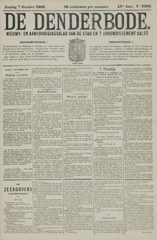 De Denderbode 1888-10-07