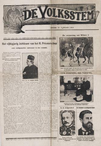 De Volksstem 1914-02-15