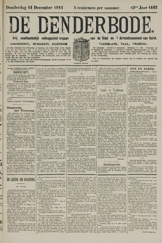 De Denderbode 1911-12-14