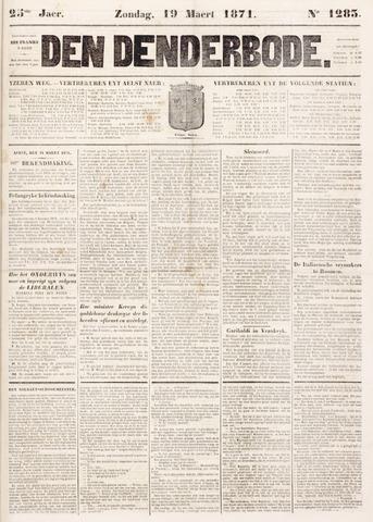 De Denderbode 1871-03-19