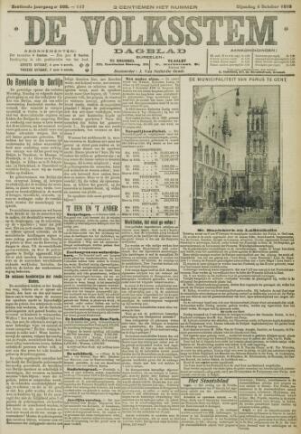 De Volksstem 1910-10-04