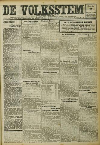 De Volksstem 1932-08-27