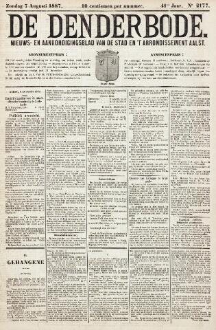 De Denderbode 1887-08-07
