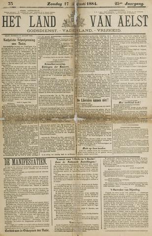 Het Land van Aelst 1884-08-17