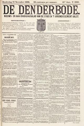 De Denderbode 1886-11-11