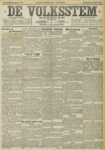De Volksstem 1914-04-02