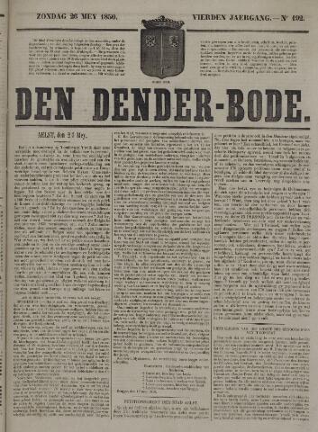 De Denderbode 1850-05-26