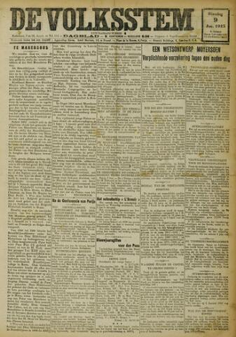 De Volksstem 1923-01-09