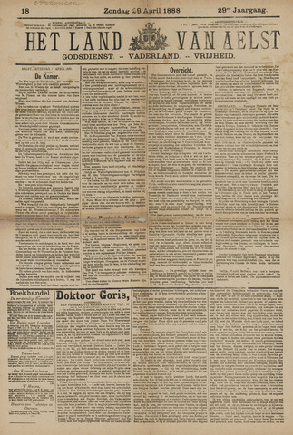 Het Land van Aelst 1888-04-29