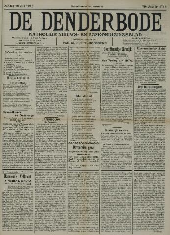 De Denderbode 1916-07-16