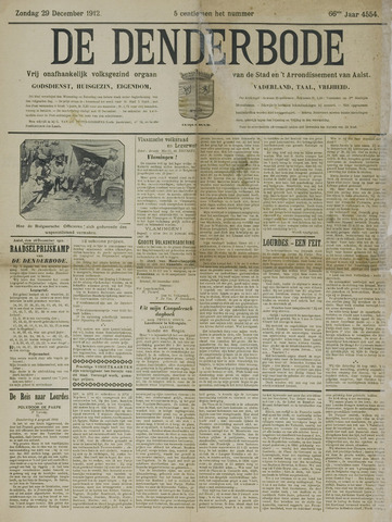 De Denderbode 1912-12-29