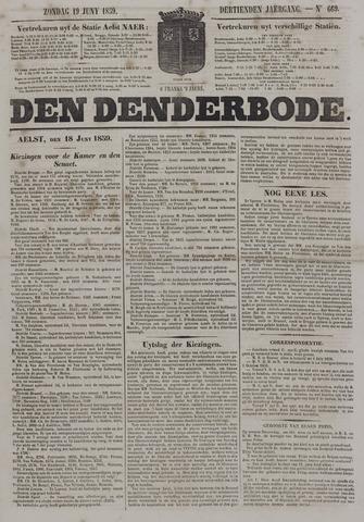 De Denderbode 1859-06-19