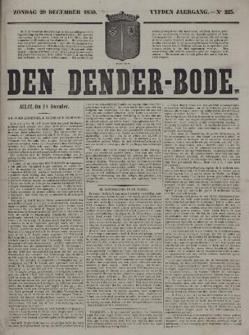 De Denderbode 1850-12-29