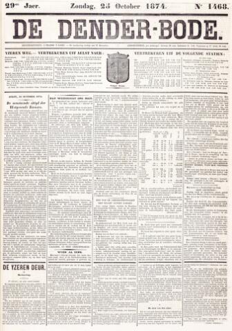 De Denderbode 1874-10-25