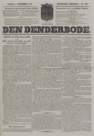 De Denderbode 1859-09-04