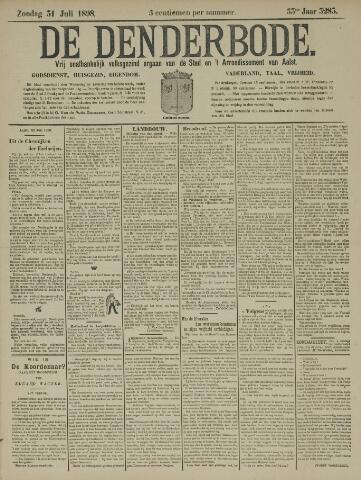 De Denderbode 1898-07-31