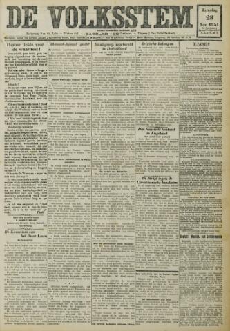 De Volksstem 1931-11-28