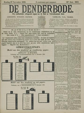 De Denderbode 1895-11-17